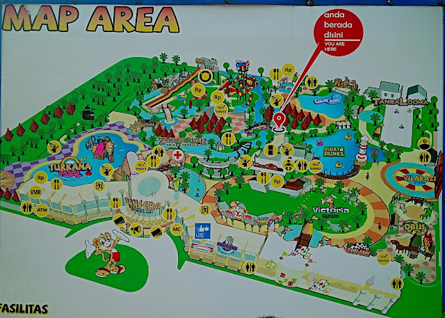 Transera Waterpark- map
