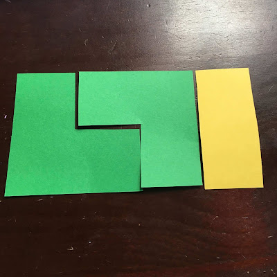 In this post I want to share a hands-on investigation into even and odd numbers that my daughter and I worked on together. This activity is so simple but really works. A couple days ago my daughter was working on a math coloring sheet I found online. This photo shows that odd + odd + even = even
