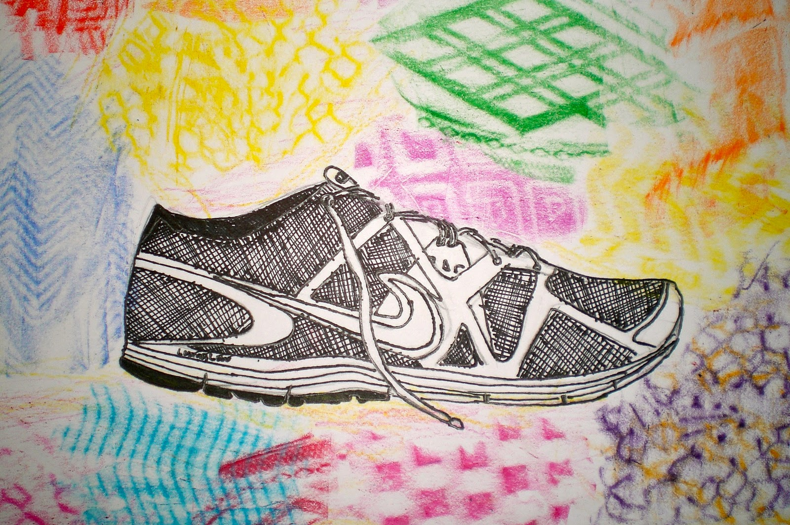 This is an image of Effortless Shoe Drawing Ideas