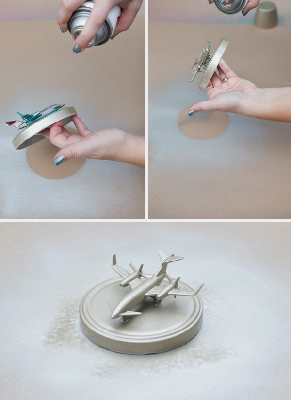 decorar tapa tarro de cristal