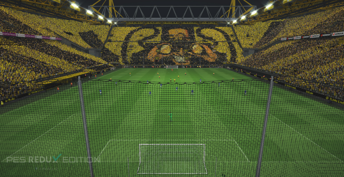 pes 2017 new signal iduna park stadium pes pro. Black Bedroom Furniture Sets. Home Design Ideas
