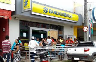 AGORA LASCOU DE VEZ: Agencia do Banco do Brasil suspende atendimento em Bom Jardim até dia 25
