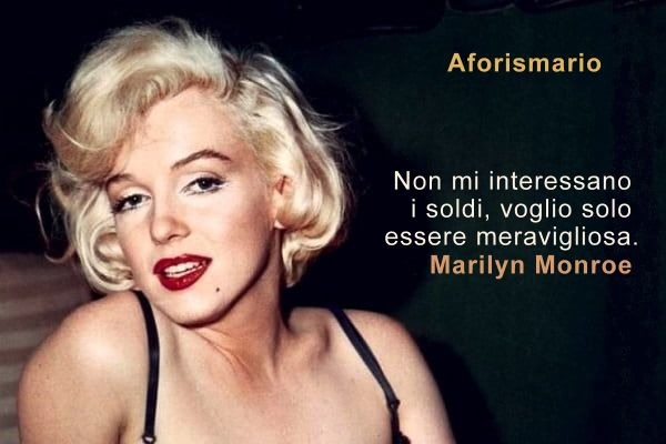 Aforismario Le Piu Belle Frasi Di Marilyn Monroe