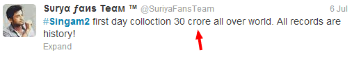 Singam2+first+day+collection+Singam2+Celebrities+Review+www.Suriyaourhero.blogspot.in+Twitter+proof.png