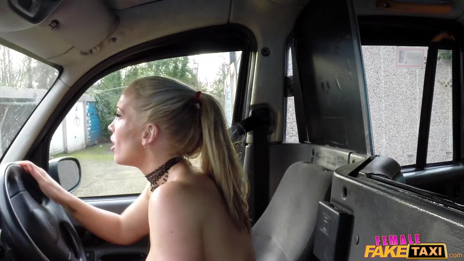 female fake taxi full