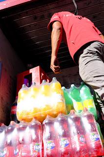 soda delivery, Santiago de Puriscal