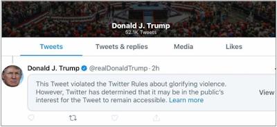 تويتر  ترامب