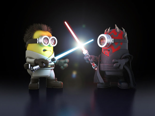 Minions Star War Jadi HD Wallpapers