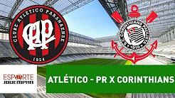 Transmissão AO VIVO - Atlético-PR x Corinthians - 08-11-2017