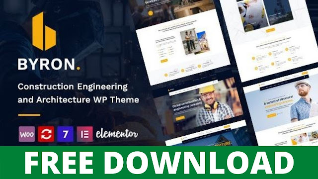 DOWNLOAD BYRON V1.3  CONSTRUCTION AND ENGINEERING WORDPRESS THEME