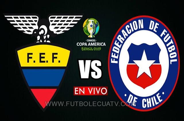 Ecuador se enfrenta a Chile en vivo 📲 a partir de las 18:00 horario de nuestro por la fecha dos Grupo C de la Copa América ⚽ a efectuarse en el reducto Arena Fonte Nova, siendo el árbitro principal Patricio Loustau de nacionalidad argentina con transmisión de los canales oficiales Teleamazonas, El Canal del Fútbol y DIRECTV Sports.