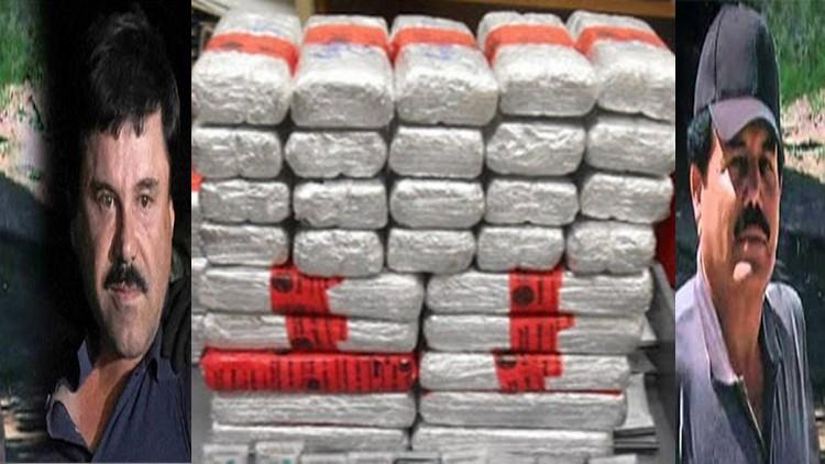 Caen siete miembros del Cártel de Sinaloa en Los Ángeles con drogas, dinero y armas