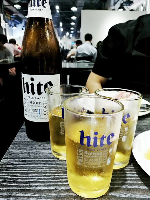 I'm KIM Korean BBQ - Hite Beer