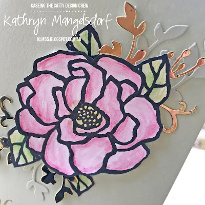 Stampin' Up! Beautiful Day created by Kathryn Mangelsdorf