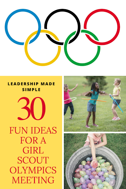 30 Girl Scout Olympics Meeting Ideas