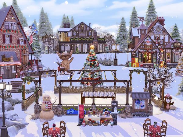 Sims 4 Winter Festival  冬季慶典 (No CC)