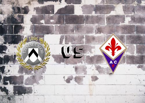 Udinese vs Fiorentina  Resumen