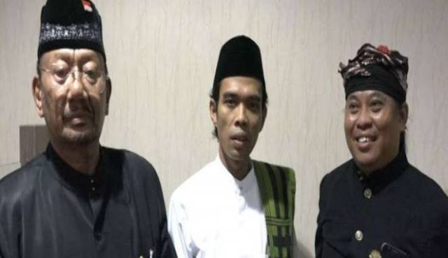 Cerita Raja Bali Temani Ustaz Abdul Somad Tabligh Akbar: Malah Guyub Kita