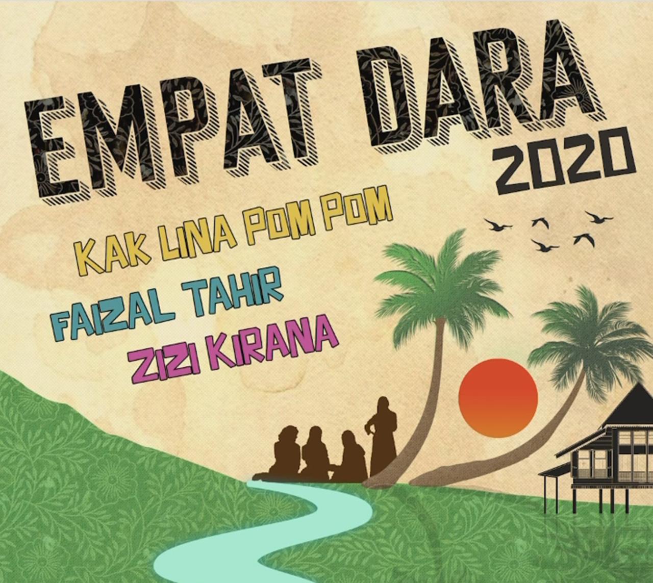 Lagu Empat Dara 2020 Versi Elly Mazlein, Faizal Tahir & Zizi Kirana