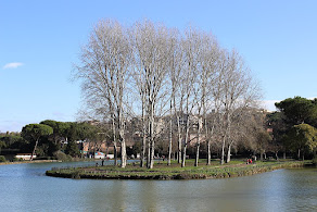 The Villa Ada is surrounded by one of the biggest urban parks in Rome