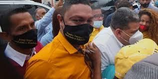 Escándalo propiciado por el actual candidato al parlamento por el estado Carabobo Leandro Domínguez