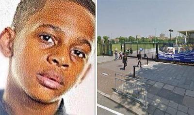15 year school boy is stabbed to outside school yard