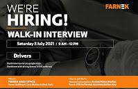 Farnek Services LLC  Recruitment For Drivers in Dubai, UAE   Direct Walk In Interview