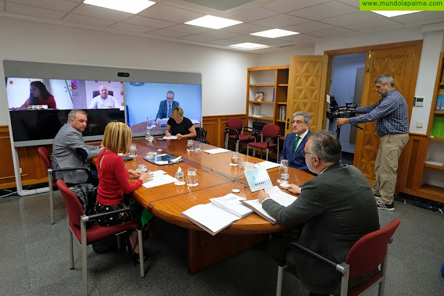 El presidente de Canarias aborda con su Consejo Asesor y los agentes sociales y políticos la evolución del Covid-19 en Canarias