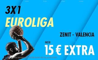 suertia promo Euroliga Zenit vs Valencia 25-2-2021