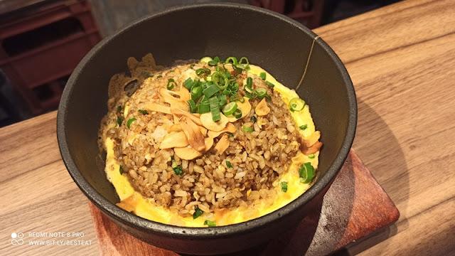 Teppan Sakaba Menu - Teppan Garlic Fried Rice