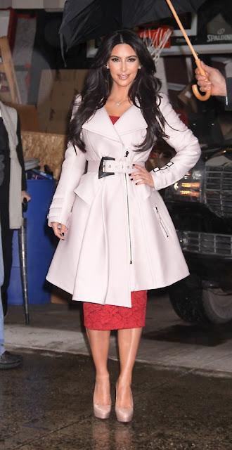 fashion ways: Kim KARDASHIAN : Winter Coats For Rainy NYC