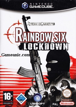 Tom Clancy's Rainbow Six Lockdown Game Cover