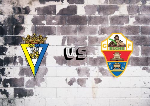 Cádiz vs Elche  Resumen