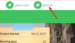 Регистрация в GreenForex
