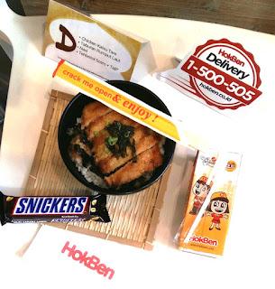 Bento Ramadan D jadi menu buka puasa dari HokBen