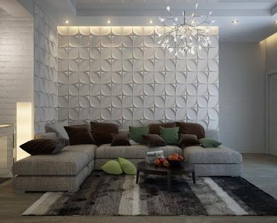 Perpaduan Warna Cat Ruang Tamu Rumah Minimalis