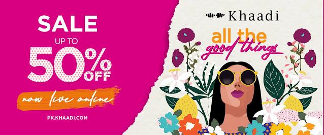 online Khaadi Sale September 2020