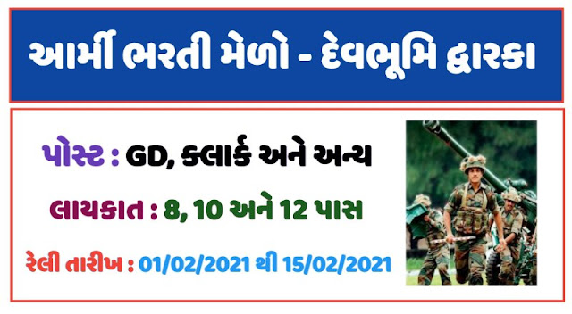 Indian Army Rally (Melo) Gujarat Recruitment 2020 [New Date]