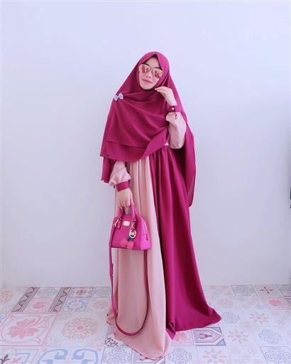 model dan desain dari gaya hijab syar'i modis terbaru