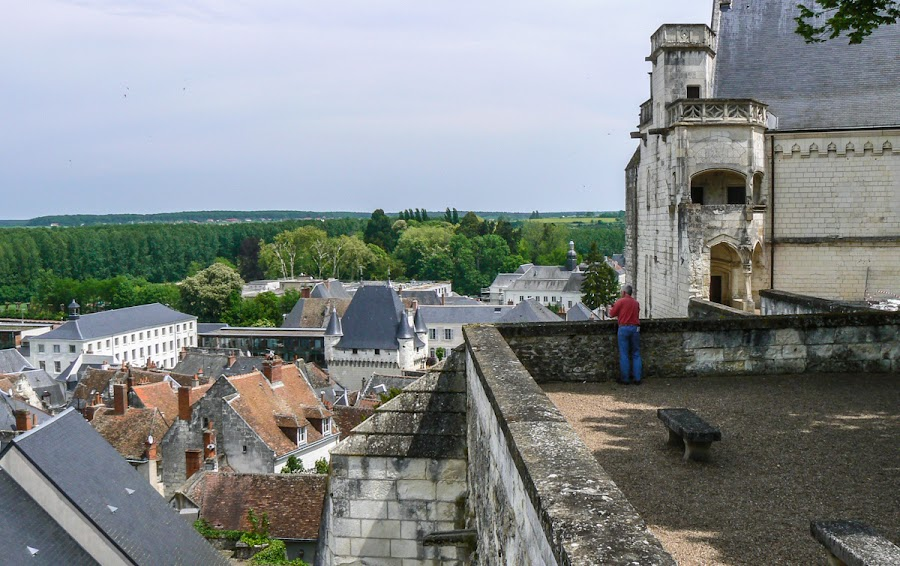 Another view over Loches