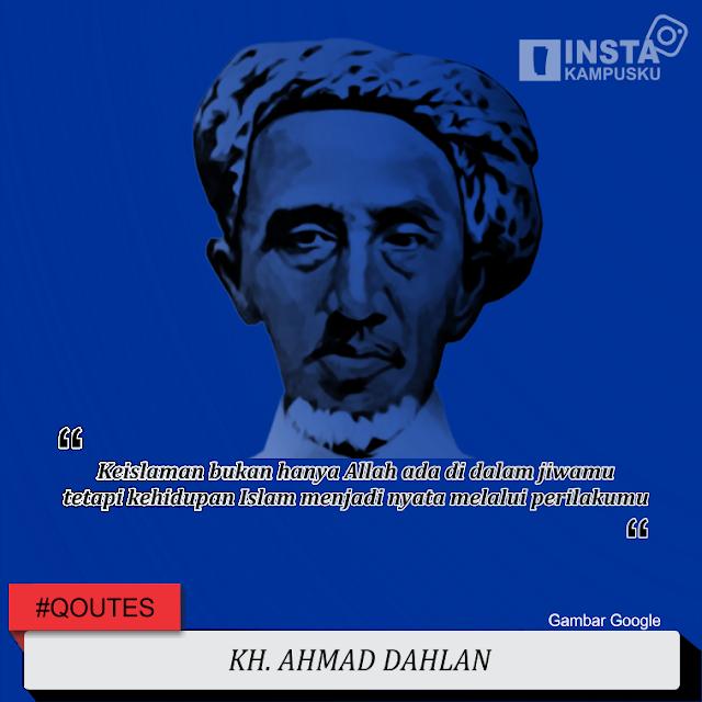 Tokoh Pendidikan KH Ahmad Dahlan