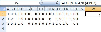 Fungsi COUNTBLANK, excel 2007, microsoft excel 2007, program excel 2007,