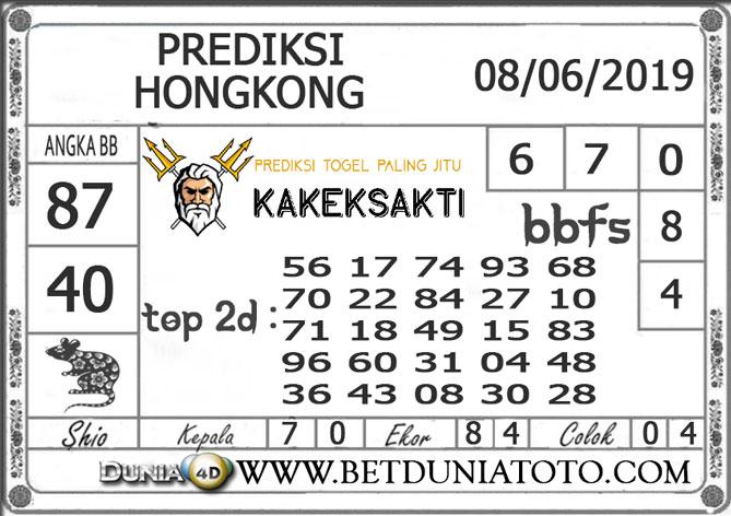 Prediksi Togel HONGKONG DUNIA4D 08 JUNI 2019