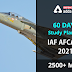 60 Days Study Plan for IAF AFCAT 2  2021 Examination: Know Here