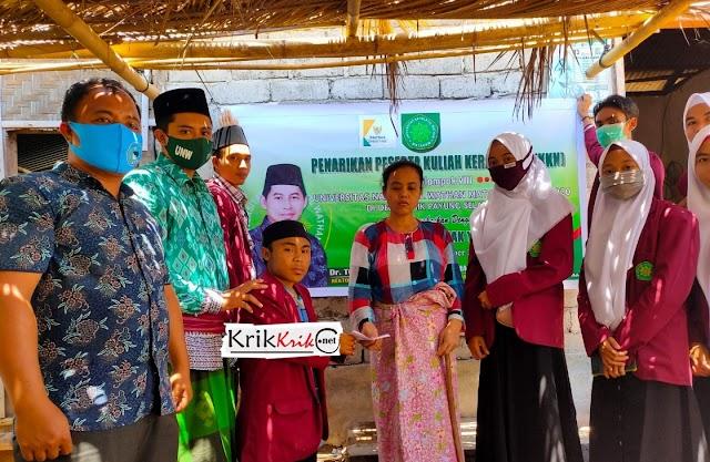 Perpisahan KKN UNW Mataram, ada Haru dan Bahagia juga Santunan Anak Yatim