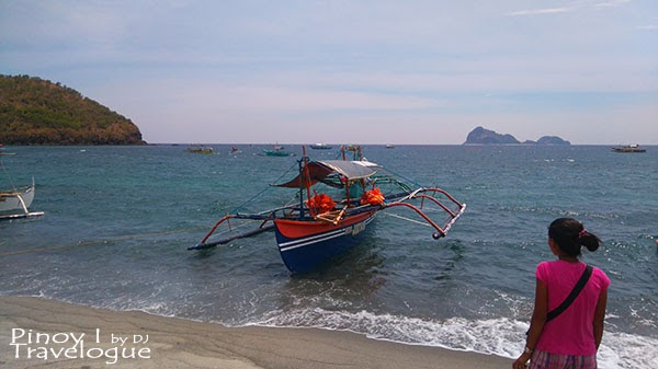 Pundaquit Beach and Capones Island (on far end)