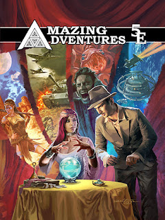 Amazing Adventures 5E cover