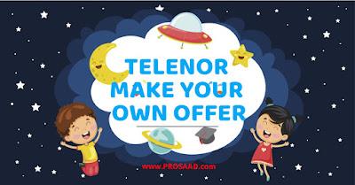 Telenor Make Your Own Offer