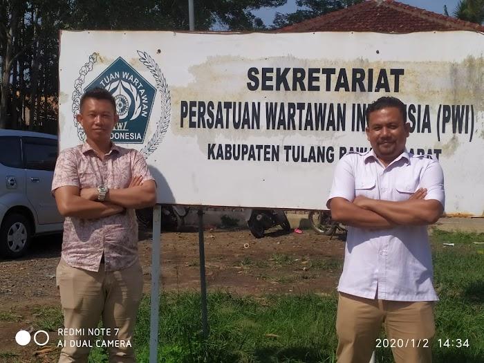 Kasat Intel Polres Kabupaten Tulang Bawang Barat (Tubaba) Lampung, sambangi Kantor PWI