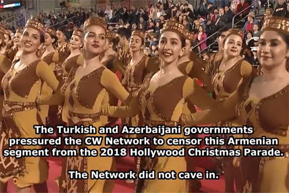 Turquía y Azerbaiyán contra Desfile Navideño de Hollywood